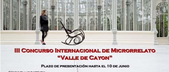 """III Concurso Internacional de Microrelato """"Valle de Cayón"""""""