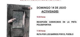 San Román visita a sus vecinos Sanromaniegos el 14 de julio