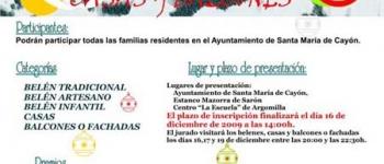 Abierto el plazo de inscripciones en los concursos de Belenes y Engalanamiento de Casas y Balcones del Ayuntamiento de Santa María de Cayón