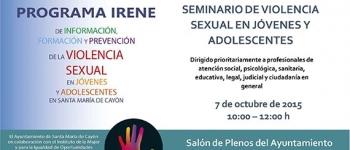 Seminario de violencia sexual en jóvenes y adolescentes