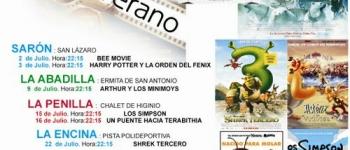 El Ayuntamiento de Santa María de Cayón ha puesto en marcha el 'Cine de Verano'