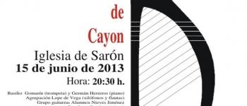 Celebración del I Concierto Polifónico Valle de Cayón