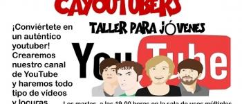 """Taller para jóvenes """"Cayoutubers""""."""