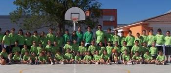 A punto de concluir el III Campus de Iniciación al Baloncesto