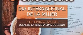 """El Ayuntamiento de Santa María de Cayón organiza una lectura, """"Poesía y Chocolate"""", para celebrar el Día Internacional de la Mujer"""