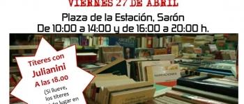 Feria del libro usado solidaria.