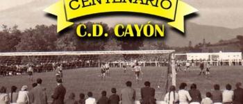 Partido histórico de los veteranos del Real Madrid C.F. y el Club Deportivo Cayón para celebrar los 100 años del club