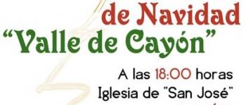 """El  21 de diciembre, a las 18:00 horas, en la Iglesia de San Jose de Sarón, Concierto de Navidad """"Valle de Cayón""""."""