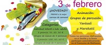 El Carnaval de Sarón tendrá lugar el primer sábado de febrero, con una tarde de fiesta y diversión