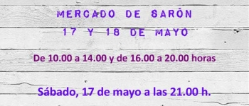 Celebración de la IV Feria de Productos de Gujan-Mestras, el 17 y 18 de Mayo en el Mercado de Sarón.