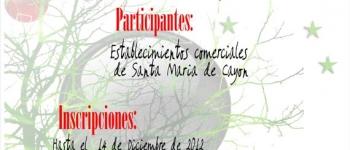 I Concurso de Escaparates de Navidad, organizado por concejalía de Cultura