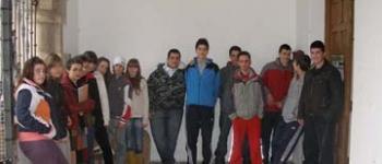 Programa de acercamiento de los alumnos de secundaria al arte contemporáneo organizado por el Ayuntamiento