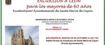 Excursión a León para los mayores de 60 años