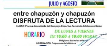 Bibliopiscina y un Punto de Lectura en La Penilla, actividades estivales alternativas en Cayón