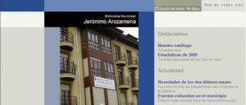 La Biblioteca Municipal Jerónimo Arozamena, del Ayuntamiento de Santa María de Cayón, inaugura su página web
