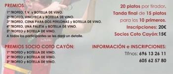 Esles acoge el II concurso de Tiro al Plato Real Valle de Cayón