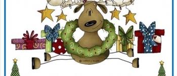 Taller de Navidad en la Biblioteca: Un reno mereado