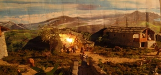 Visite el Nacimiento Pasiego de la Iglesia Justo y pastor de San Román de Cayón