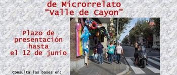 """IV Concurso Internacional de Microrelato """"Valle de Cayón"""""""