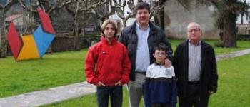 Tomás Cortázar y Juan Carral, presente y futuro del mundo de la hípica en Cayón