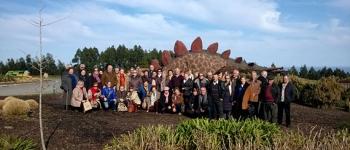 Los vecinos de Santa María de Cayón visitan Asturias