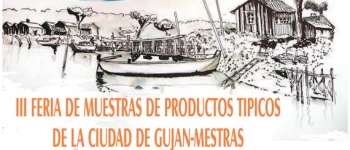 Próxima celebración III Feria de Muestras de productos Típicos de Gujan Mestras, en el Mercado de Sarón