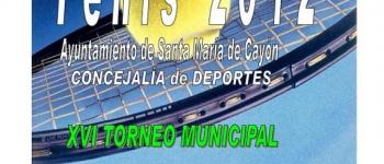 Abierto el plazo de inscripciones para el XVI Torneo Municipal de Tenis