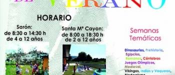 Abierto el Plazo de inscripción en la ESCUELA DE VERANO CAYÓN JULIO Y AGOSTO 2016.