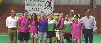 Celebrado el I Torneo de Fútboll Sala Femenino