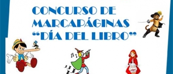 """Concurso de marcapáginas """"Dia del Libro"""" ¡Animate y participa!"""