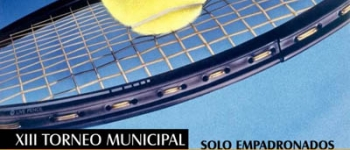 Torneo de Tenis 2009.Organizado por la Concejalía de Deportes del Ayuntamiento de Santa María de Cayón.