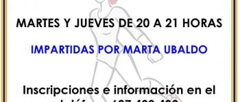 Abierto el plazo de inscripción para clases de zumba y step en Sarón