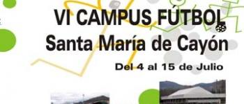 Abierto el plazo de inscripción para el Campus de Fútbol.