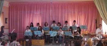 """La Agrupación Instrumental """"Lope de Vega"""" actuó en concierto en el Aula de la Tercera Edad de Santa María de Cayón"""