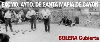 II Torneo De bolos de Veteranos en la Bolera cubierta del Complejo Municipal Fernando Astobiza de Sarón