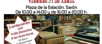 Día del Libro este viernes día 21 de abril con la Feria del Libro Usado y Cuentacuentos