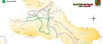 Recorrido del I Duatlón Cross, ruta del Caballar en MTB y a pie
