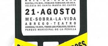 """el 7 de agosto a las 19:00 horas en el Mercado de Saron, se representará para el público infantil y adulto: """"Esto no es una Manzana"""""""