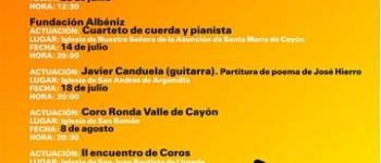 Presentado el Programa de Conciertos para este verano