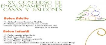 Premiados en el XIX Concurso de Belenes y XV Concurso de Engalanamiento de Casas y Balcones 2013