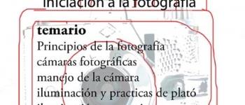 Taller de fotografía II.Iniciación a la fotografía.Organiza Klick Fotostudio.Colabora la Concejalía de Cultura,Educación y Juventud.