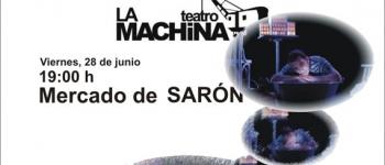 """La Machina Teatro presenta su obra """"Grillos y Luciérnagas"""" el próximo viernes en el Mercado de Sarón"""