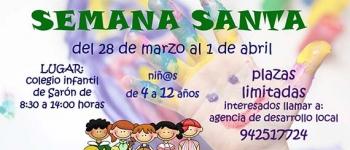 Campamento de Semana Santa en el Colegio Infantil de Sarón