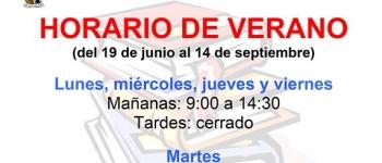 El viernes comienza el horario de verano en la Biblioteca Municipal Jerónimo Arozamena de Sarón