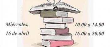 Feria del Libro Usado, SOLIDARIA. Se contará con la presencia de Marakatú y su espectáculo de cuentos