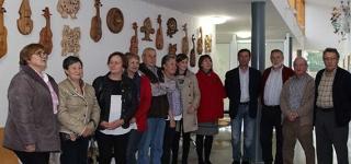 El Centro de Salud de Sarón inauguró el pasado viernes la exposición Asociación Riguraos