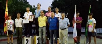 El pasado fin de semana tuvo lugar en Esles de Cayón el XLIV Campeonato de España de Bolo Palma de veteranos.