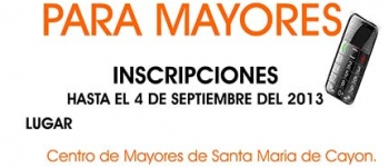 Taller de Telefonía móvil para mayores: abiertas las inscripciones hasta el 4 de septiembre