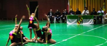 Presentación de las Escuelas Deportivas Municipales de Gimnasia Rítmica