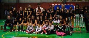 Presentación de las escuelas deportivas de Baloncesto y Aerobic